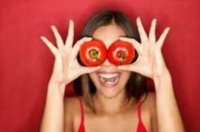Menghilangkan Jerawat Dengan Tomat Untuk Masker