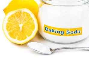 Dengan Baking Soda Dan Lemon